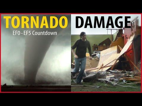 EF0-EF5 Tornadoes & Their Damage Countdown