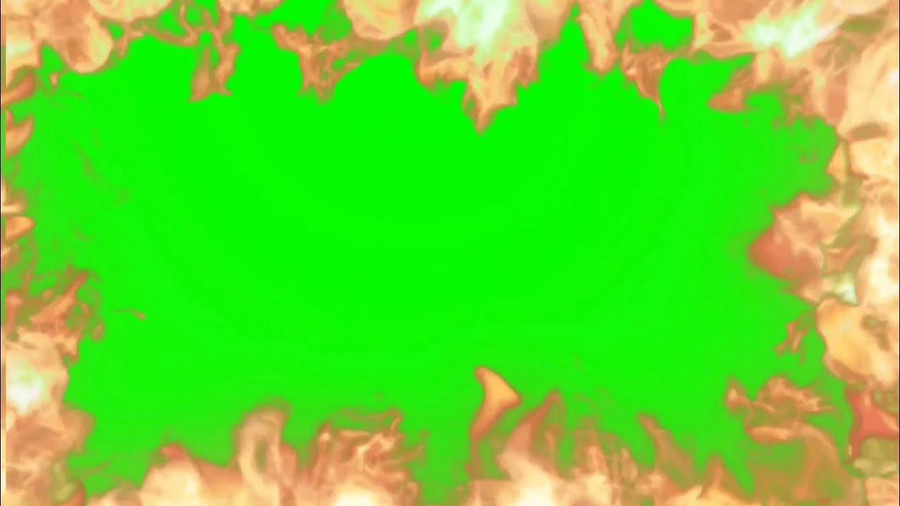 Green Screen Fire / Flames / Effects