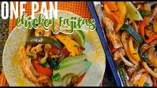 Healthy Chicken Fajitas Mexican Food Recipe | Natalie Jill