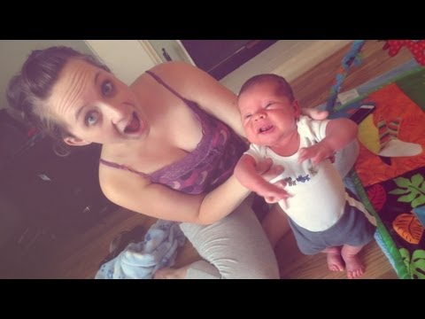 NEWBORN STARTS WALKING!! (8.20.13 – Day 207)