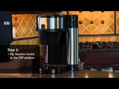 How to clean BUNN® Velocity Brew®