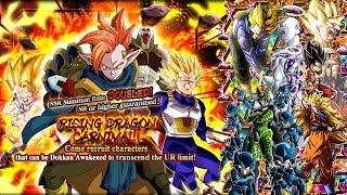 2100 STONES! LR PULLS!! RISING DRAGON CARNIVAL DOUBLE SSR RATE BANNER! Dragon Ball Z Dokkan Battle