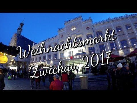 GoPro / Rundgang über den Weihnachtsmarkt in Zwickau / Sachsen