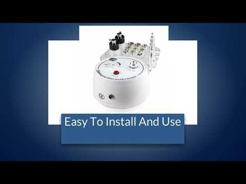 3-1 Mini Diamond Microdermabrasion Dermabrasion Facial Vacuum Peel Spray Machine