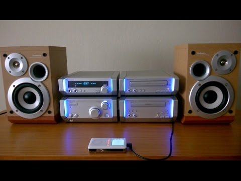 Technics SC HD505 Stereo System Army Strong Song Panasonic SE Mini Hifi Shelf Component