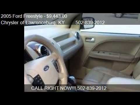 2005 ford freestyle limited 4dr wagon for sale in lawrencebu youtube. Black Bedroom Furniture Sets. Home Design Ideas