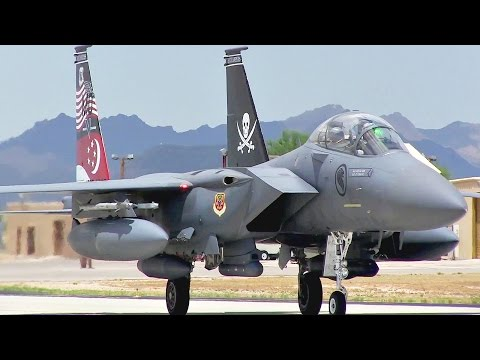 F-15 Eagle Takeoff/Landing - The Best American Fighter Ever Built?