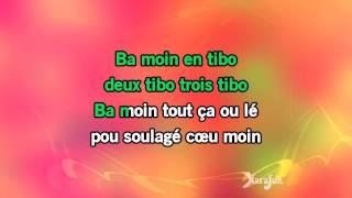 Karaoké Ba moin en tibo - La Compagnie Créole *