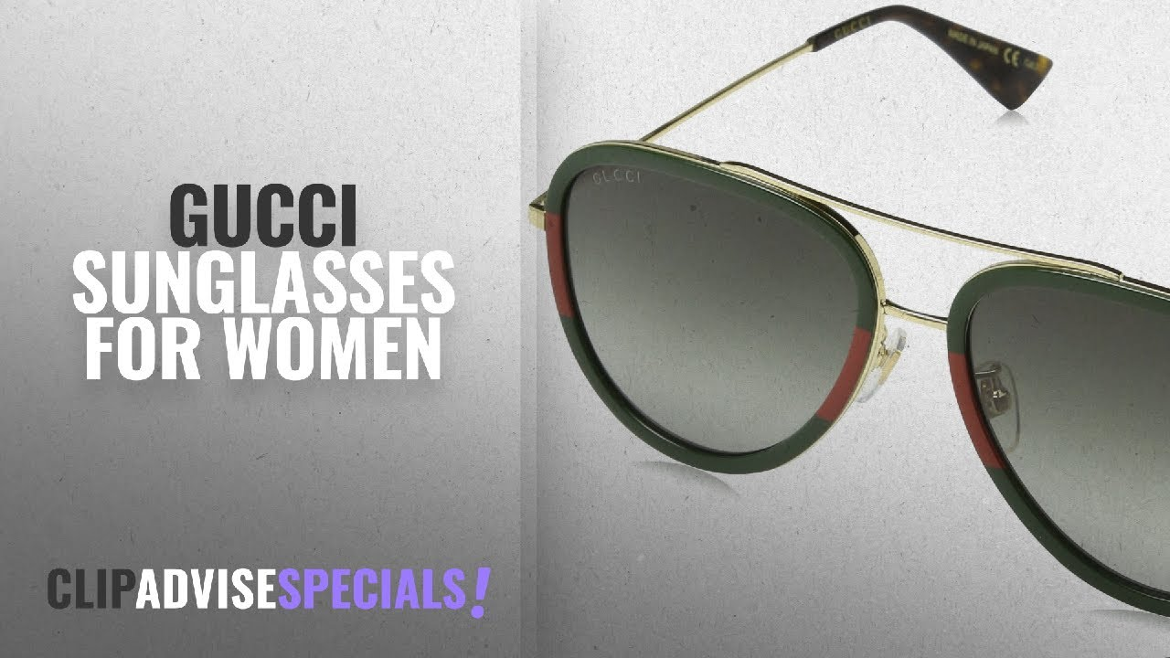 a06280239d Save On Gucci Sunglasses For Women  Min 25% Off   Gucci GG0062S 003 ...