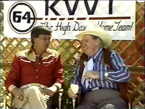 Randy Andrew and Pat Buttram
