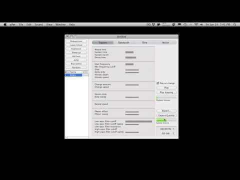Free 8bit & 16bit Sound FX Creator