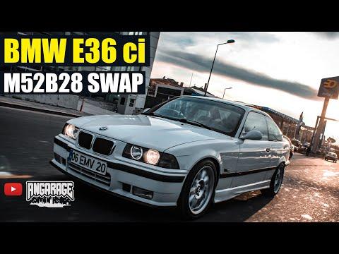 BMW E36 M52B28 SWAP | İNCELEME | ANGARAGE #evdekal
