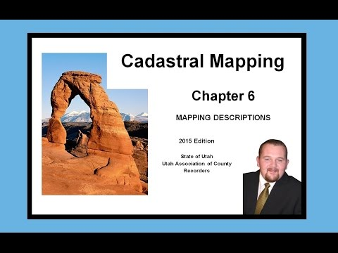 Ch 6 Cadastral Mapping - Mapping Descriptions