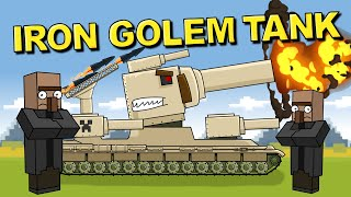 """""""Iron Golem KV6 - Trial by Fire"""" - Cartoons about tanks"""