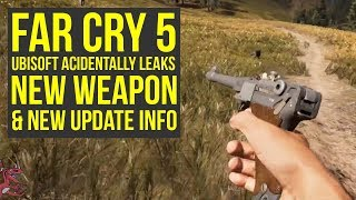 Far Cry 5 DLC - Ubisoft Leaks New Weapon & Desert Eagle OUT NOW FOR EVERYONE (Far Cry 5 New Weapons)