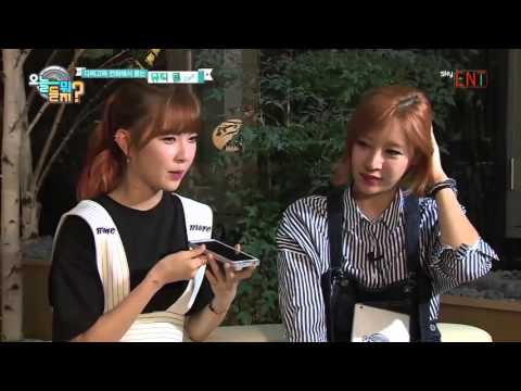 [ENG SUB] 150922 오늘 뭐 듣지 ep 12 - Jooyoung call cut