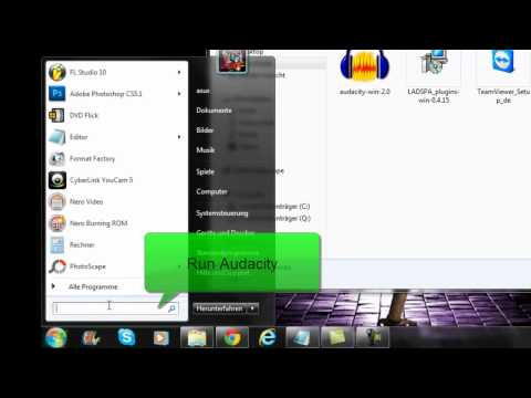 """How To Download And Use Audacity & """"Karaoke""""-Plugins (Tutorial)"""
