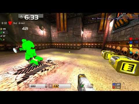 Quake Live: HoQ 2v2 rekt vs oldschool map 2 - rehepapp
