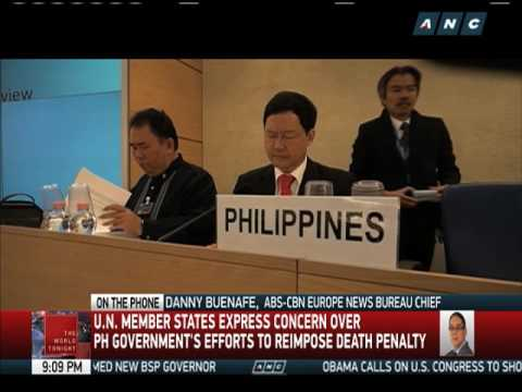 PH officials defend anti-drug campaign in U.N. rights council