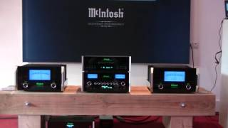 McIntosh set at the iEar high-end audio show