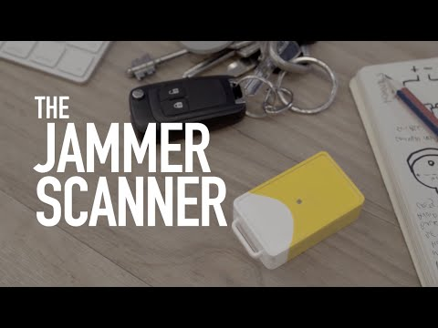 The Jammer Scanner: The car alarm for your car alarm