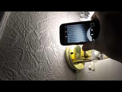Как проверить мерцание светодиодных ламп