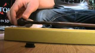Vidéo de la baguette de Lupin en boite Ollivander!!!!!