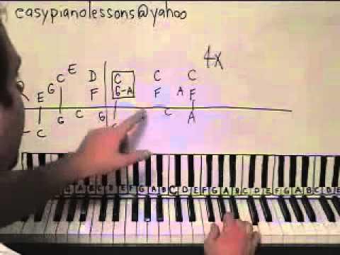 Piano Lesson Tiny Dancer Elton John Shawn Cheek Tutorial