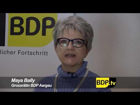 BDP Grossrätin Maya Bally zur STAF