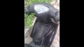 Menyalakan starter motor miscal dan mematikan pake hp