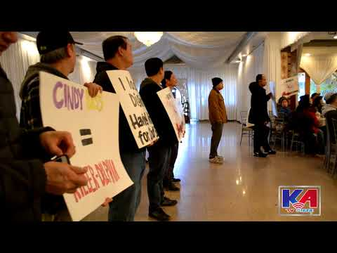 Mr. David Oh, City Councilman's speaking about Bullet Glass Bill Hearing ! - KATV Asia