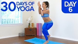 Yoga for Joint Pain & Flexibility ♥ Day 6 of 30, Health Happy Joints with Jess,Beginners Class