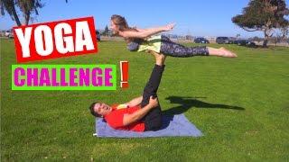 YOGA CHALLENGE | El Mejor Video del Canal ♥ | Katie Angel