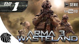 ArmA 3 WASTELAND / NÃO MEXE COM QUEM ESTÁ QUIETO / Ep #1 [PT-BR