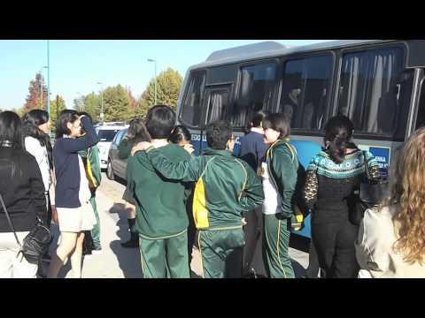Azuela School Visits Chile, 2014