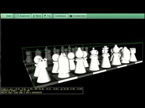 Juego de Ajedrez en VRML