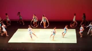 馬頭涌官立小學2014畢業禮 藝術體操 表演