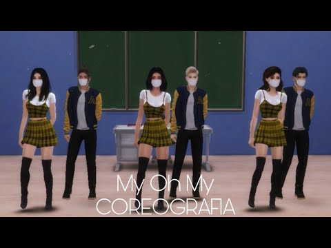 [The Sims 4 - DANCE] My Oh My   Senna Sisters