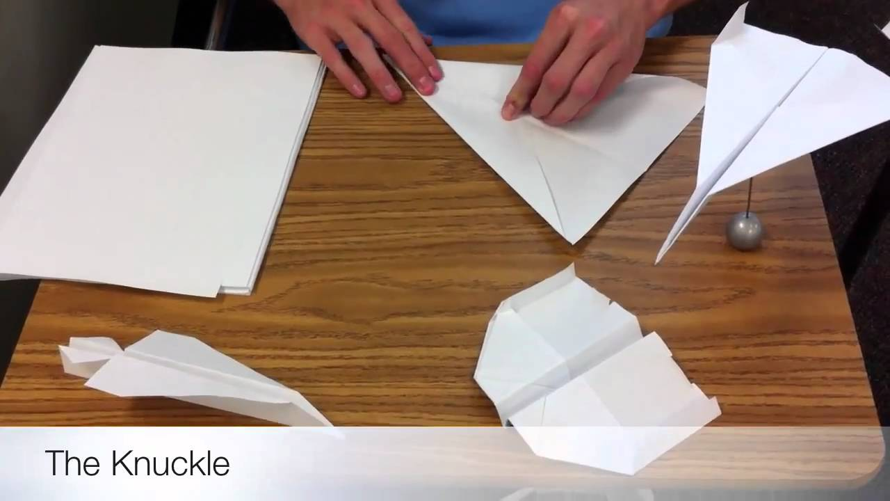 how to make a fast paper airplane the knuckle how to make a fast paper airplane the knuckle