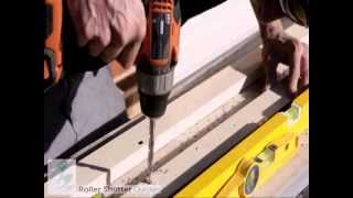 Roller Shutters -- How To Install Window Shutters Australia