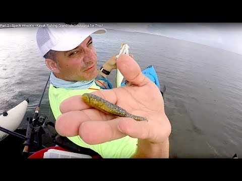 Part 2 - Speck Wreck'n - Kayak Fishing Grand Isle Louisiana for Trout