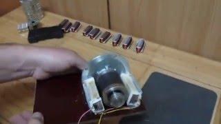 Homemade Mini generator ..