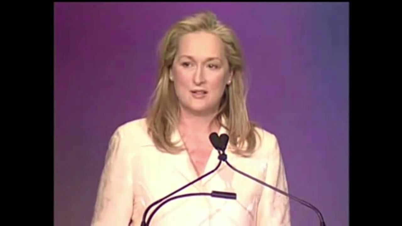 La pouvoir de l'empathie expliqué par Meryl Streep