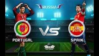 Spain vs Portugal World Cup Football Highlights 2018
