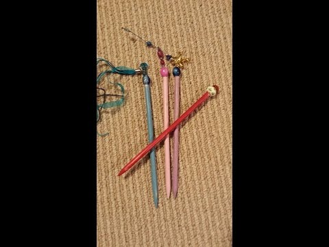 DIY Hair Sticks          (Arond the world Inspiration)  Asia