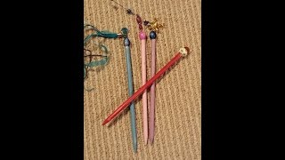 DIY Hair Sticks          (Arond the world Inspiration)  Asia