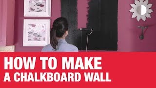 How To Make a Chalkboard Wall - Ace Hardware