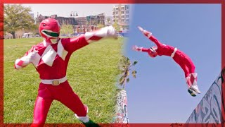 Power Ranger Parkour! ft. Omar Zaki