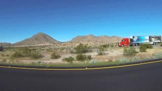 AZ SR 85 to Interstate 10 Freeway, Buckeye, Arizona, PetSmart to Panda Express, 23 Dec14, GP040061