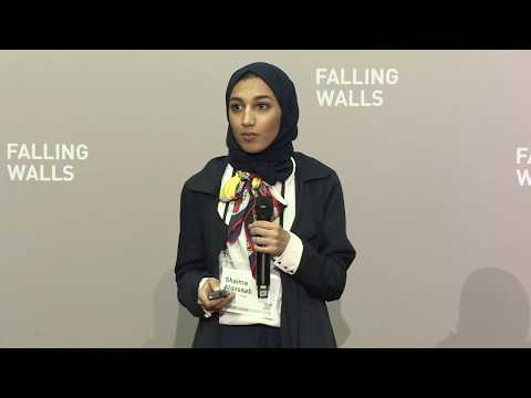 Shaima AlQassab, Alga Life, at Falling Walls Venture 2017